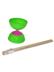 Kunststoff-Diabolo Kinder-Spielzeug grün