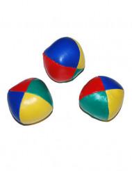 Jonglier Bälle 3 Stück bunt 6cm