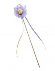 Rapunzel™ Stab Lizenzartikel violett-gold