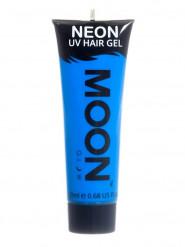 Moon Glow - Neon UV Haar-Gel Haarfarbe Bodypainting fluoreszierend intensiv blau 20ml