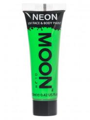 Moon Glow - Neon UV Gesicht- und Körperfarbe Schminke Makeup Bodypainting fluoreszierend intensiv grün 12ml