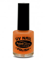 Nagellack UV-aktiv leuchtend orange 10ml
