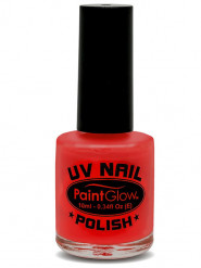 Nagellack UV-aktiv leuchtend rot 10ml