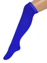 Kniestrümpfe halterlos blau 53cm