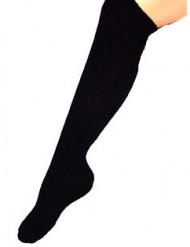 Overknee-Strümpfe schwarz 53cm