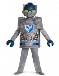 Clay Nexo Knights Lego Kinderkostüm grau-blau