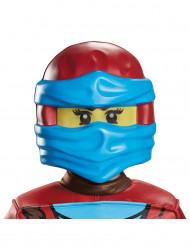 Nya Ninjago-Maske Lego-Kindermaske blau-rot-gelb