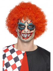 Horrorclown-Schminke Halloween-Make-up-Set mit Zubehör 6-teilig bunt