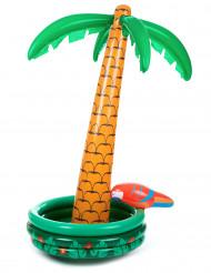 Aufblasbare Palme Getränkekühler grün-braun