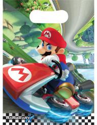 Mario™ Geburtstagstüten Kinder-Tüten 6 Stück bunt