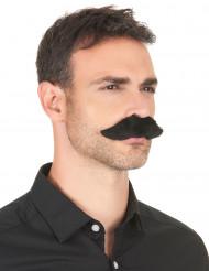 Schnauzer Kostüm-Schnurbart schwarz
