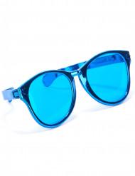 XXL Spaßbrille Party-Accessoire blau
