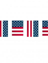 USA Girlande Flaggen Deko 10 Meter