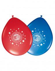 Latexballons USA 8 Stück