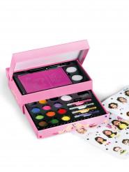 Rosa Make-up-Box für Mädchen Schmink Set Lizenzartikel Snazaroo 25-teilig