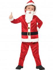 Weihnachtsmannkostüm für Kinder mit Musik