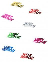 Konfetti Happy Birthday Party-Deko bunt 15g