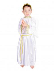 Schönes Engel Kostüm Engelchen für Kinder weiss-gold