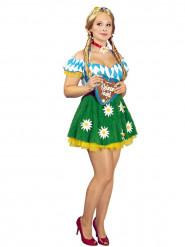 Oktoberfest Wiesn Kostüm für Damen bunt