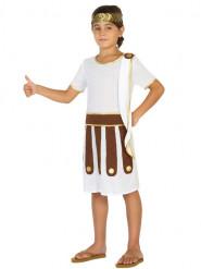 Antikes Römer Kostüm für Jungs weiss-braun-gold