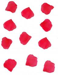 Stoff-Blütenblätter Party-Deko Blumen rot 150 Stück