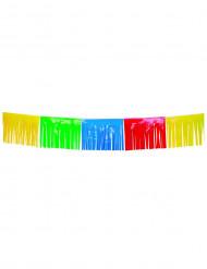 Fransen-Girlande Party-Deko bunt 10mx34cm