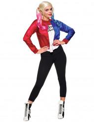 Suicide Squad Harley Quinn Damenkostüm Lizenzartikel Jacke mit Shirt bunt