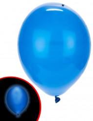 Luftballons LED Illooms 5 Stück blau