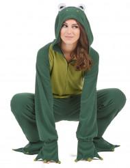 Frosch-Damenkostüm Tierkostüm grün