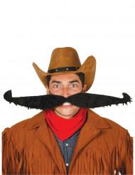 Grosser Schnurrbart schwarz 55 cm