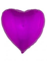 Folienballon Herz pink 45 cm