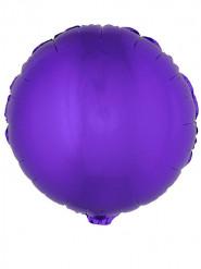Runder Folienballon 45 cm, violett