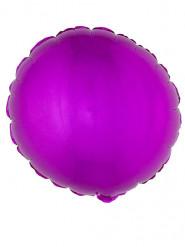 Runder Folienballon, fuchsienrot