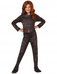 Black Widow Kostüm für Mädchen Avengers schwarz