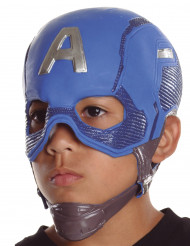 Captain America Avengers Kindermaske Lizenzartikel blau-silber