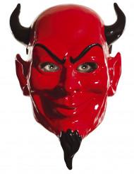 Teufelmaske Scream Queens™ Lizenzartikel rot-schwarz