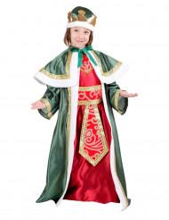 Caspar Kinderkostüm Heilige Drei Könige Weihnachten rot-grün-gold