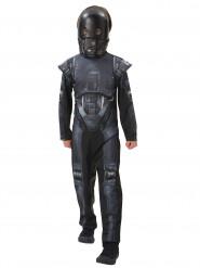 K-2SO Droide Star Wars Kinderkostüm Lizenzware schwarz