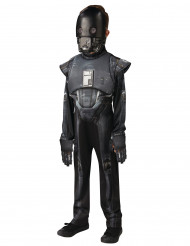 K-2SO Droide Star Wars Deluxe Kinderkostüm Lizenzware schwarz