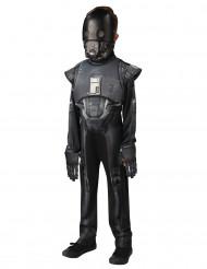 K-2SO Droide Star Wars Deluxe Teenkostüm Lizenzware schwarz
