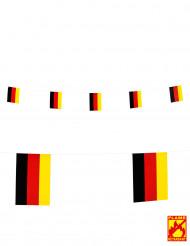Deutschlandfahne Girlande 15 x 20 cm