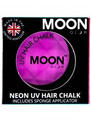 Moon Glow UV Haarkreide Schwarzlicht-Schminke violett 3,5g