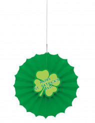 Happy St. Patrick's Day Rosette Party-Deko grün 30cm