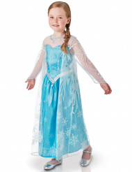 Disney Frozen Die Eiskönigin Elsa Deluxe Kinderkostüm Lizenzware blau-weiss