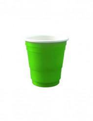 Schnapsgläser Shot-Becher 20 Stück grün 4cl