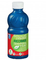 Gouache 250 ml Lefranc & Bourgeois blau