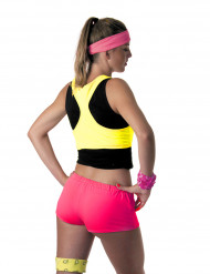 Damen Mini Shorts neonrosa