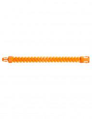 Reißverschluss-Armband neon-orange