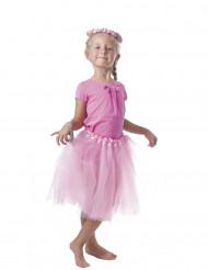 Tutu Tüllrock für Kinder Petticoat rosa