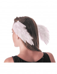 Haarspangen Engelsflügel weiß